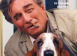 Lieutenant Columbo and his dog named Dog