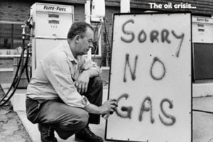 The oil crisis of the 70s