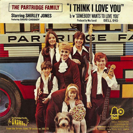 The Partridge Family's I Think I Love You