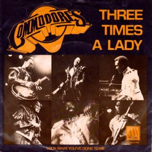 Commodores' Three Times a Lady