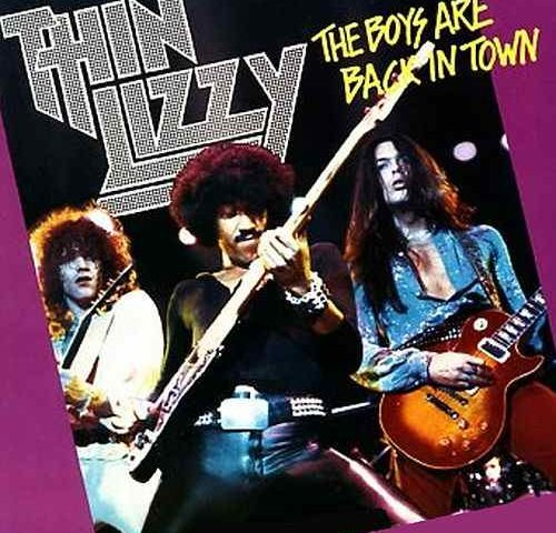 Thin Lizzy's The Boys are Back in Town