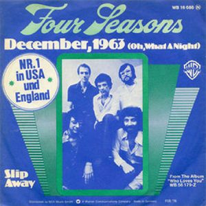 The Four Seasons December 1963 Oh What a Night