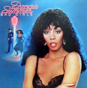 Donna Summer Hot Stuff on Bad Girls Album